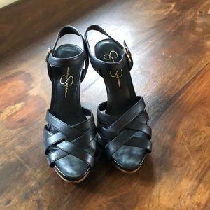 Jessica Simpson high heeled sandal